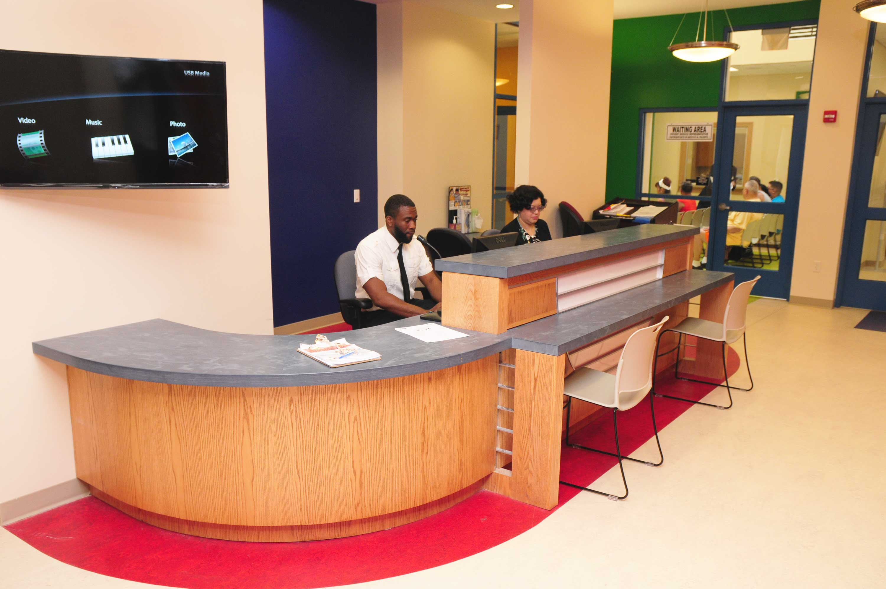 NCHC Front Desk