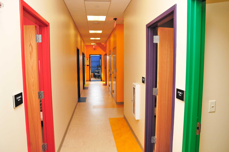 NCHC Center Hallway